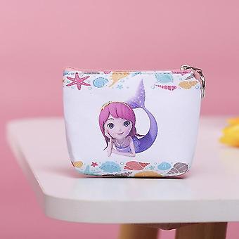 Deti Kreslené kabelky - Mrazené mince Taška Mickey Spojka Plyšová peňaženka