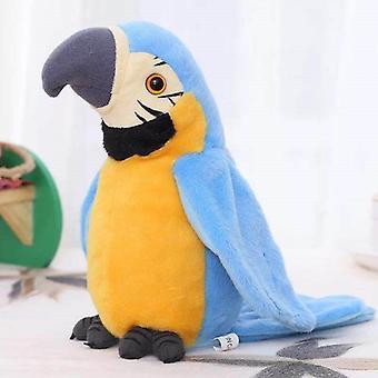 Peluche elettrico per bambini, lettura della lingua registrazione vocale bambole pappagallo per bambini