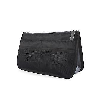 Inserción de bolsa para maleta Negro