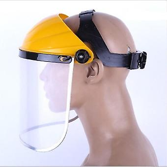 Dustproof Mask Transparent, Pvc Safety Faces Shields, Screen Spare, Visors Head