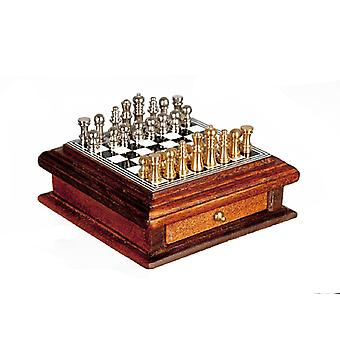 Dolls House Chess Set With Storage Drawer