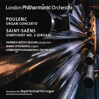Poulenc / Saint-Saens - Organ Con-Saint-Saens: Sym 3 Organ [CD] USA import