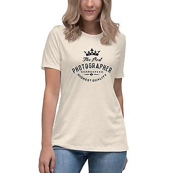 Best Photographer - Short-sleeved T-shirt, ladies