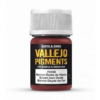 VAL73108 Pigment Vallejo - Oxyde de fer brun