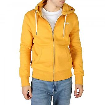 Superdry Orange Label Classic Zip Hoody Gold Marl 3PP