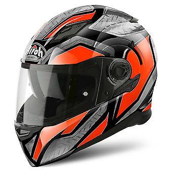 Airoh Helmet Movement S Full Face - Stalowy pomarańczowy połysk
