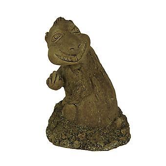 Digger the Digging Gopher Bird Finger Yard or Garden Statue