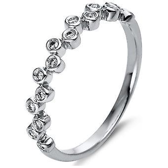 Luna Creation Promessa Ring Multiple Stone Trim 1N789W454-1 - Ancho del anillo: 54