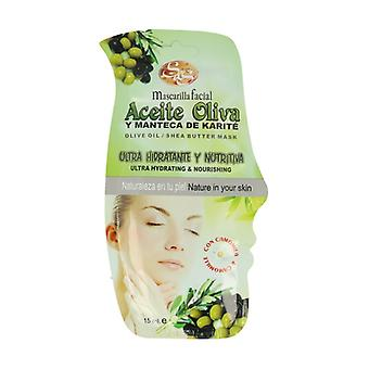 Olive Oil and Shea Butter Face Mask 15 ml of cream