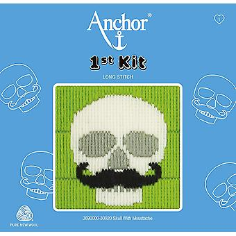 Anchor Long Stitch Kit: 1st Kit: Skull