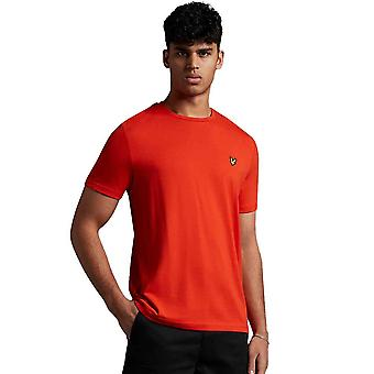 Lyle & Scott Plain T-Shirt - Burnt Orange