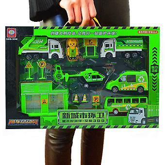 Children's city sanitation simulation toy set