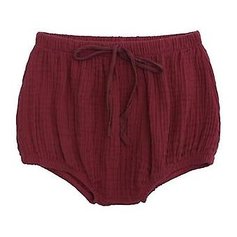 baby sommer bomull bloomers bleie deksel kort bukse klær