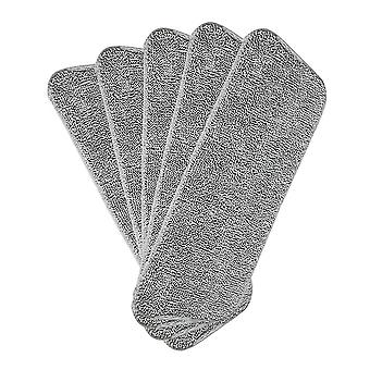 Mop replacement cleaning cloth, 6 sets, microfiber supplement cloth, washable cleaning cloth, deep cleaning replacement mop head