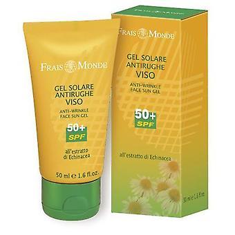 Frais Monde Gel Sol ansiktsbehandling Anti-Arrugas 50+ Spf 50 ml