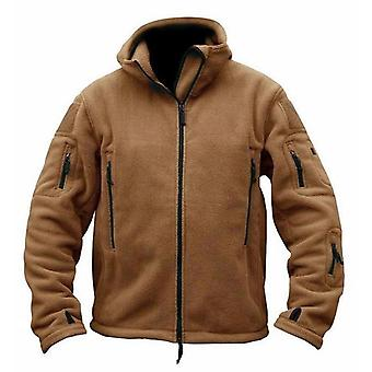 Men's Tactical Outdoor Jacket, Hunting Clothes, Fleece Multi-pocket,