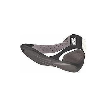 Raceschoenen OMP Zwart Zilver (Maat 42)