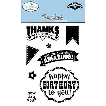 Elizabeth Craft Designs Occasions Clear Stamps