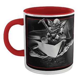 Gremlins Invasion Merchandise Mug Coffee Tea Cup - White/Red