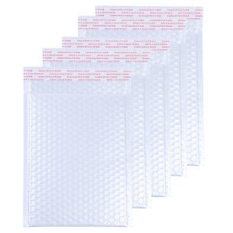 50pcs Bubble Out Bags Practical Bubble Storage Bag Shockproof Express Delivery Packaging Bag Bubble Pouch For Mailing Packaging (white, 20x15cm)