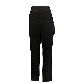 DG2 af Diane Gilman Women's Jeans XLT Tall Skinny Jegging Black 733923