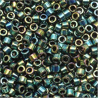 Бусины Miyuki Delica, 11/0 Размер, 7.2 Граммы, Металлический чирок DB027