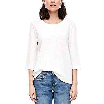 s.Oliver T-Shirt, 0210 Crème, 42 Femme