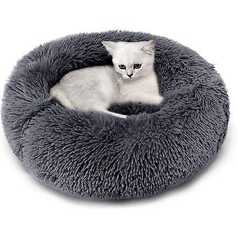 Katzenbett, Plüsch Weich Runden Katze Schlafen Bett/Klein Hund