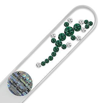 Mont Bleu Chamäleon Kristall Nagelfeile LE-7 - Smaragd - Kristall