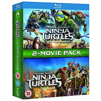 Teenage Mutant Ninja Turtles / Teenage Mutant Ninja Turtles: Out Of The Shadows Blu-ray