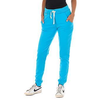 MET pantalones de mujer Nora azul claro