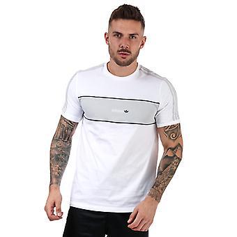 T-shirt adidas Originals Hamburg pour homme en blanc