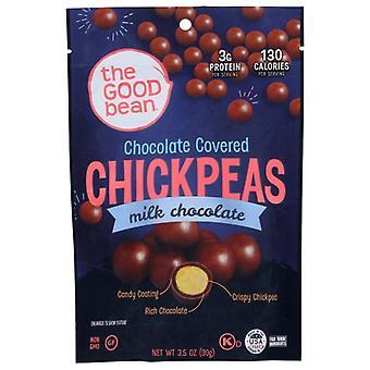 The Good Bean Chickpeas Mlk Choc, Case of 8 X 3.5 Oz
