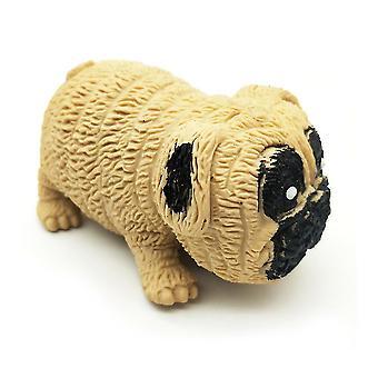 Roztomilý mops pes úzkostné úlevy hračky rozmačkané smyslové fidget hračky