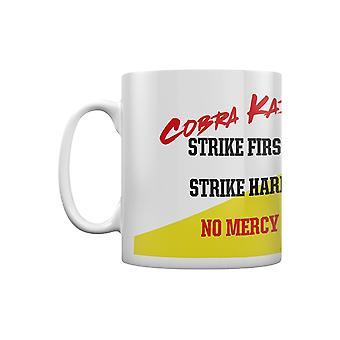 Cobra Kai No Mercy Ceramic Mug