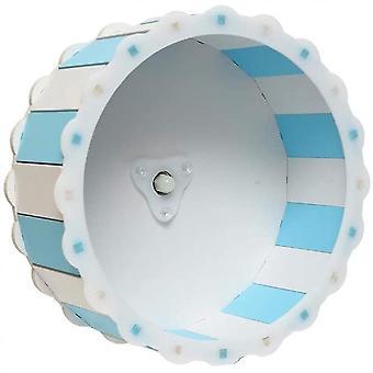 Hamster Wheel Legetøj Silent Øvelse Diameter Cage Vedhæftet fil Running Wheel (Blå 1)