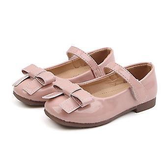 Девушки Принцесса Обувь, Модная Кожаная Обувь