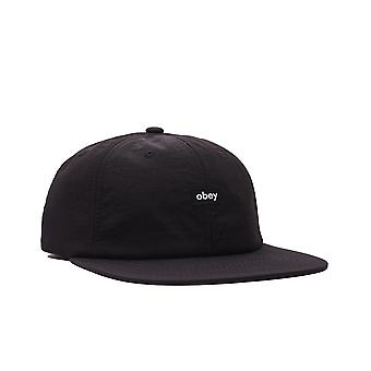 Cappello unisex obey nylon oxford 6 panel strpback 100580288.blk