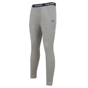 Lyle and Scott Ezra Lounge Trousers - Light Grey Marl