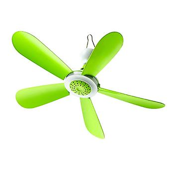 5W Remote Control Timing USB Ceiling Fan Air Cooler 5 Blades USB Fans For Bed Camping Outdoor