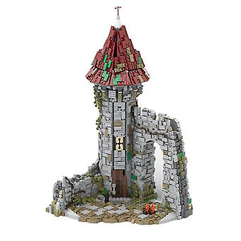 Creative City Medieval Wizard Model Domácí dekorace Dětské mozkové hry DIY Hračky Nejlepší dárek| blokuje