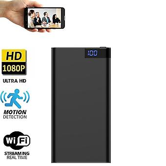 1080p Full Hd Wifi 10000mah Power Bank mit Kamera Spy Cams für Home Security Recorder