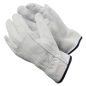Work Gloves Thorn Resistant, Made Of High Quality Sheepskin Garden Gloves With Elastic Cuff Durable And Sweat-absorbent