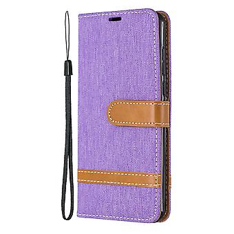 Leather Case For Huawei P40 Denim Pattern