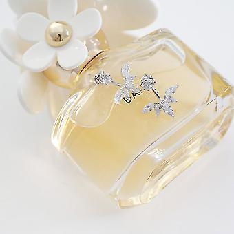 Tekojalokivi kristalli timantti korvat naisille