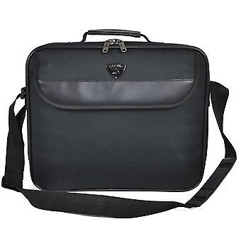 Aerolite 15-tommers Laptop Bag Flight hytte vennlig Laptop tilfelle svart