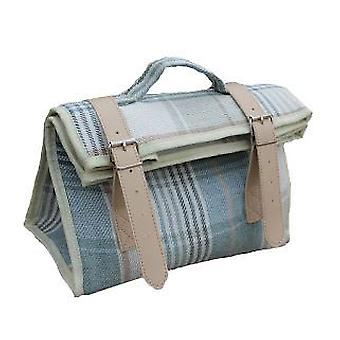 Cream Tweed Insulated Cooler Pouch Bag