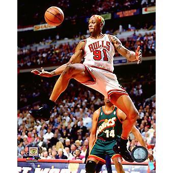 Dennis Rodman juego 6 de la impresión de foto de finales de la NBA de 1996