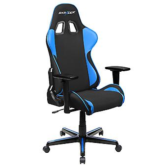 DX Racer DXRacer OH/FH11/NB High-Back Ergonomic Office Desk Chair Strong Mesh+PU(Black/Blue)
