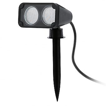 Eglo 2 Bulb LED Outdoor Spike Ground Light